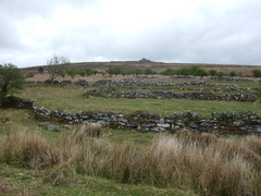 Ruins on Dartmoor