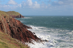Cliffs near Manorbier
