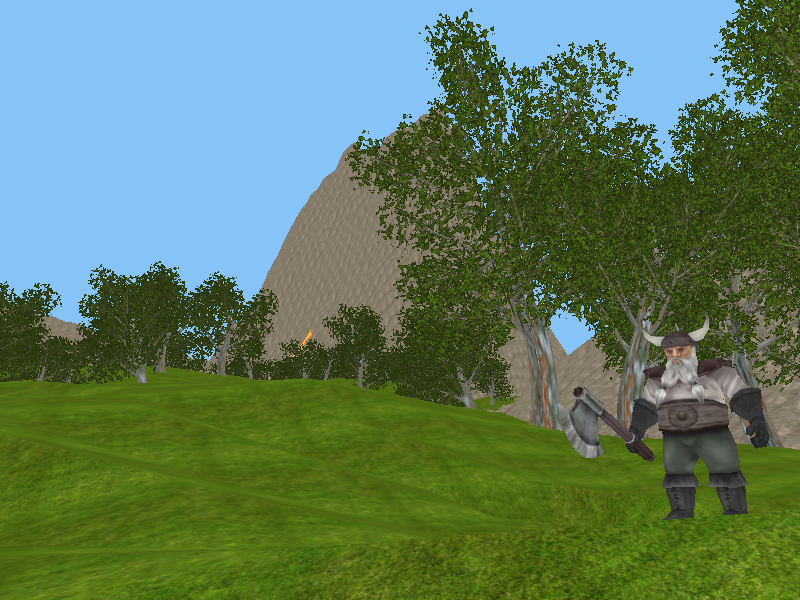 Screenshot of Stone Age Online